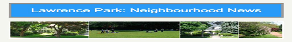 Neighbourhood News Banner stretched