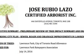 Arborist Report July 2016